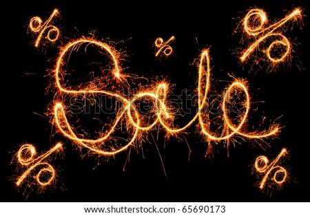 sparkling inscription of \