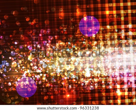 Sparkly Blurred Abstract Background