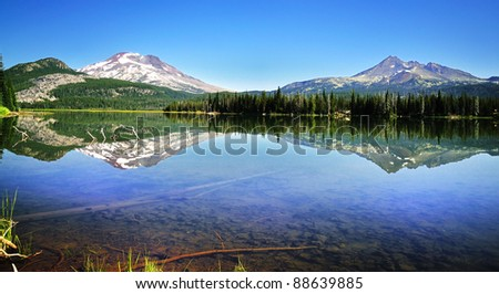 Sparks lake Reflection