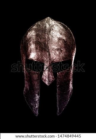 Spartan Warrior Helmet Soldier Helm
