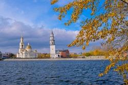 Spaso-Preobrazhensky Cathedral & Leaning Tower of Nevyansk