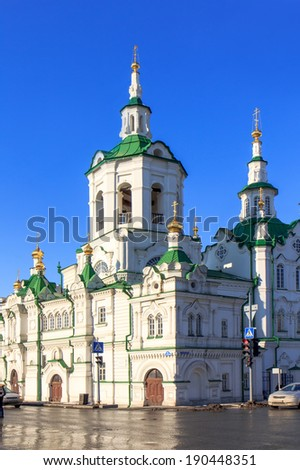 Spassky church in Tyumen