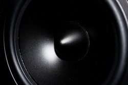 Speaker. Close up. Audio Equipment