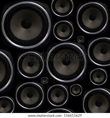 Speakers seamless background