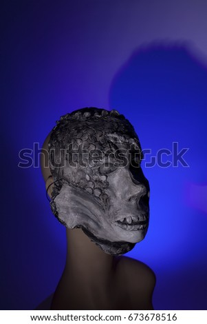 special effects monster mask #673678516