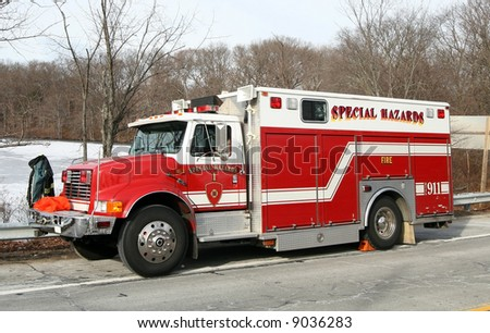 special hazards fire truck