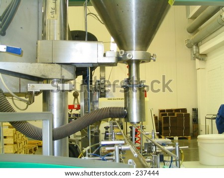 Special machine - stock photo
