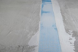 special mesh for repairing wall cracks on concrete wall mortar