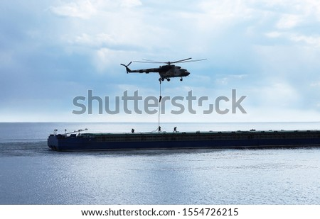 special operations forces landing on ship