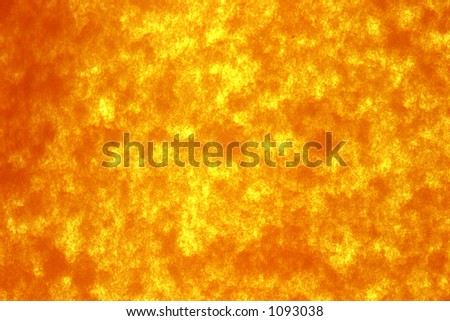 special recycled orange/yellow paper held lit up with sunlight for backgrounds