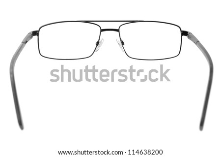 spectacles isolated on a white background