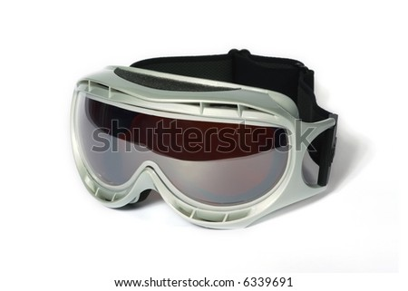 Spectacles of skiing with protection for the sun #6339691