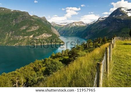 Spectacular fjord