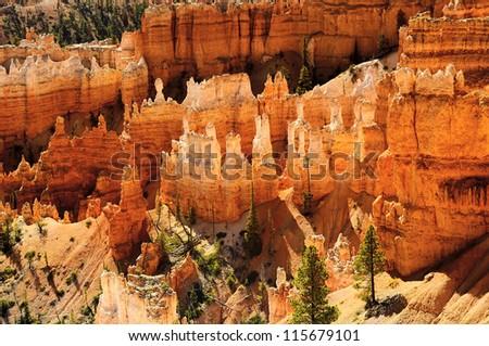 spectacular Hoodoo rock spires of Bryce Canyon, Utah, USA