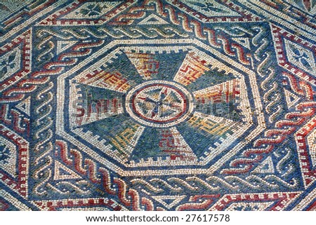 Spectacular mosaics of the Casale Roman Villa in the Piazza Armerina - Sicily