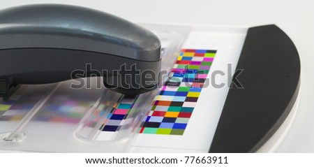 spectrophotometer and Test Arch
