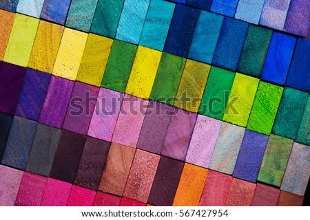 spectrum of multi colored...