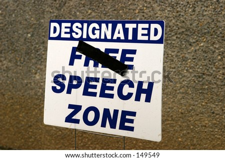 Speech Zone