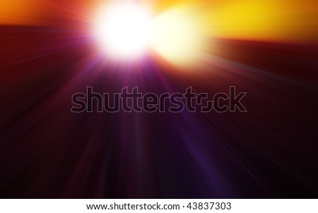 Speed abstract background - stock photo