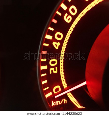 speed limits ,speedometer #1144230623