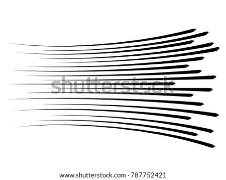 Speed lines.Motion lines.Comic lines.Speed lines black