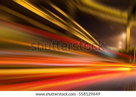 Speed motion,abstract background rays. #558129649