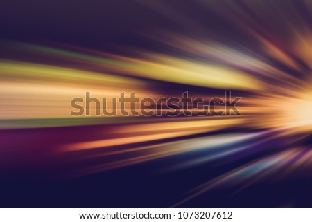 SPEED MOTION BACKGROUND AT NIGHT