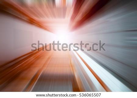 speed motion zoom camera  Orange #536065507