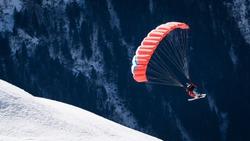 Speedglider in the mountains