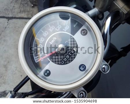 speedometer on two-wheeled motor vehicles #1535904698