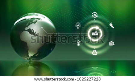 Sphere concept with sphere background #1025227228