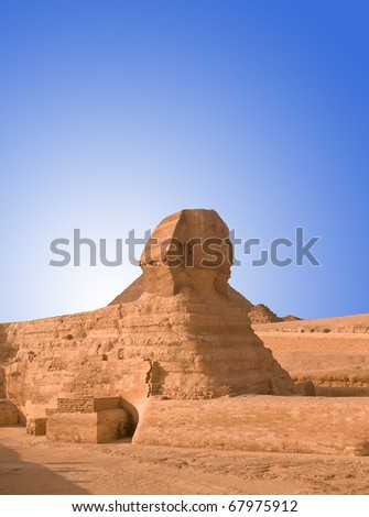 Sphinx on Giza