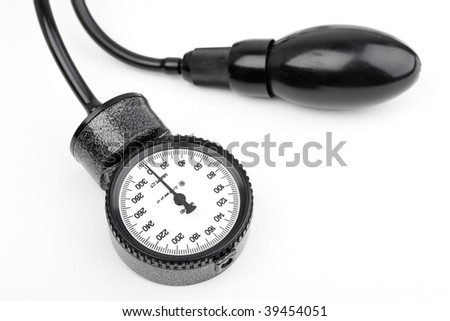 Sphygmomanometer for blood pressure isolated