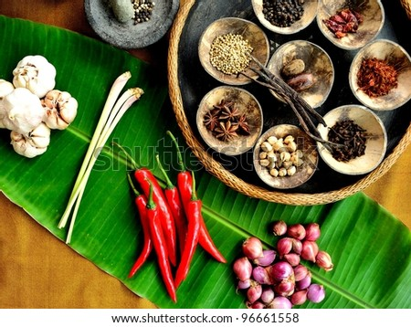Spice of Indonesia.