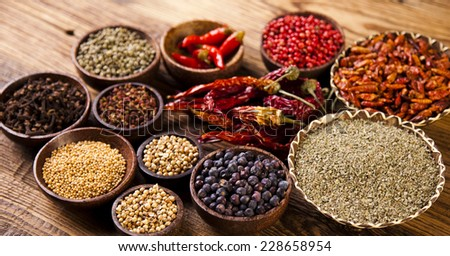 Spices, Cooking ingredient  #228658954