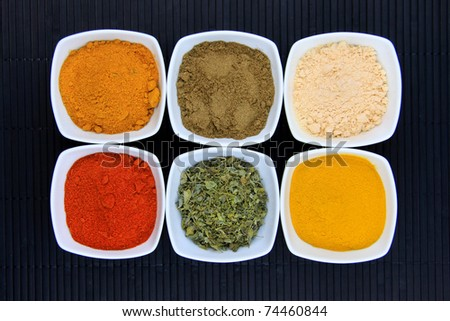 Spices of India #74460844