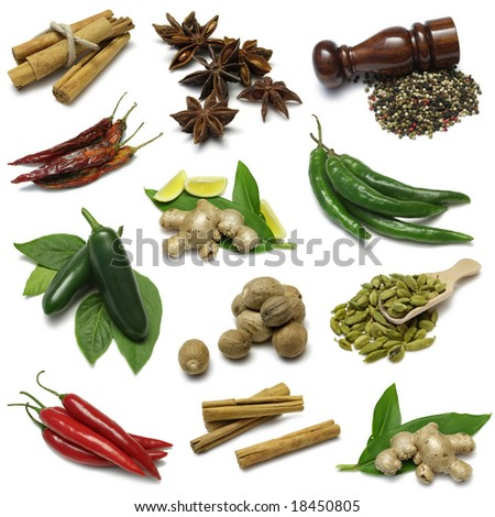Spices sampler