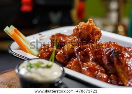 Shutterstock Spicy Wings