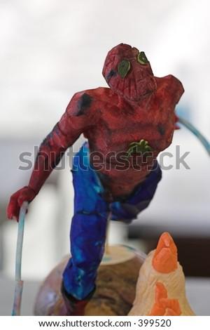 spider man food art