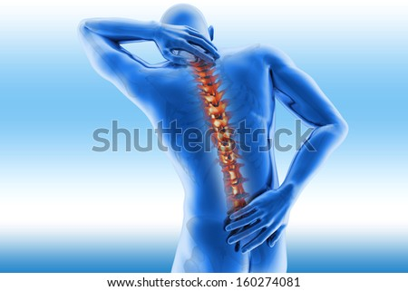 Spine pain - vertebrae trauma