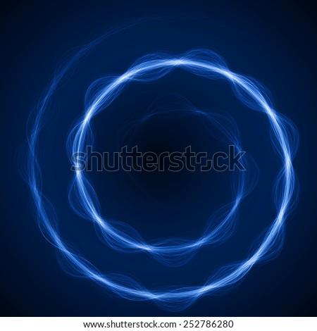 spiral formed energy waves(blue colored,short waves version)