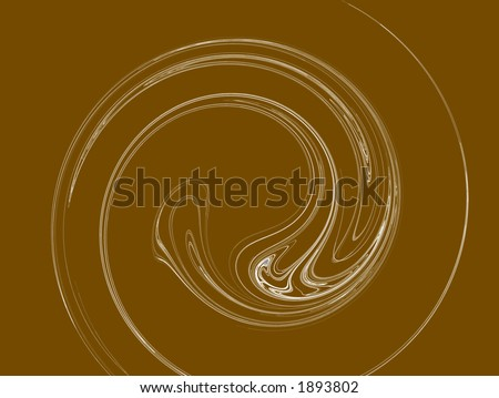 Spiral - rendered fractal abstract