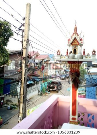 spirit House Thailand #1056831239