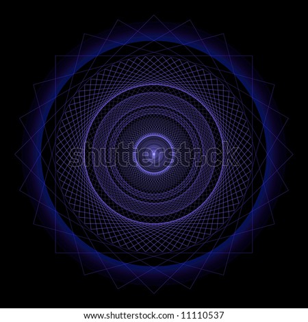 Spirograph Pattern, Digital Art, Hi Res Image, Extreme Detail