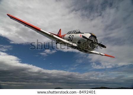 Spitfire - World War 2 Airplane - stock photo