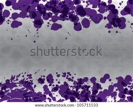Splash background. Raster version