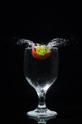 splash beauty as stilllife at home
