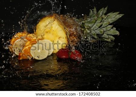 Splash over summer fruit assortment