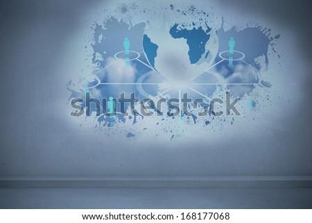 Splash showing global community