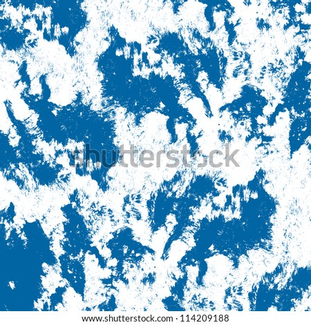 splashing water abstraction, blue water splashing